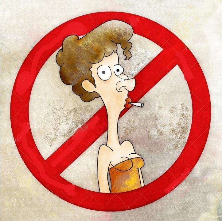 woman-no-smoking-cartoon-9151802