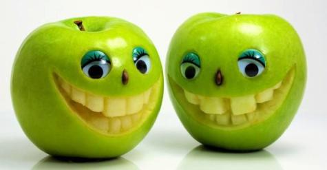 interessierte äpfel