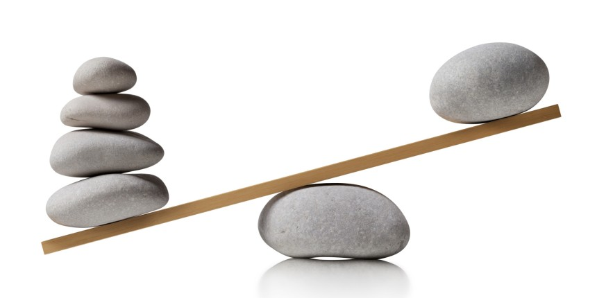 steine in der balance